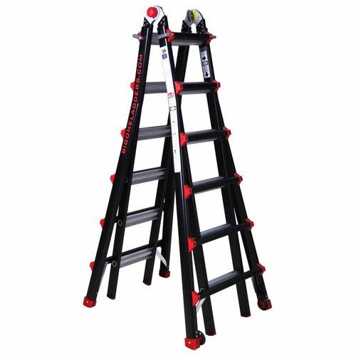Multifunctionele ladder Big One 4x6
