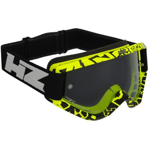 HZ Goggles Racing Yellow Clear