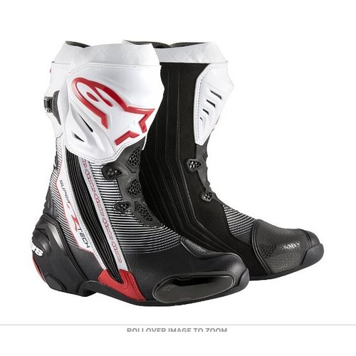 Alpinestars Supertech-R Black/Red/White