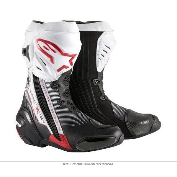 Alpinestars Supertech-R Black/Red/White