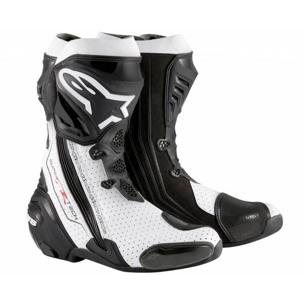 Alpinestars 2016 Supertech-R Black/White Vented