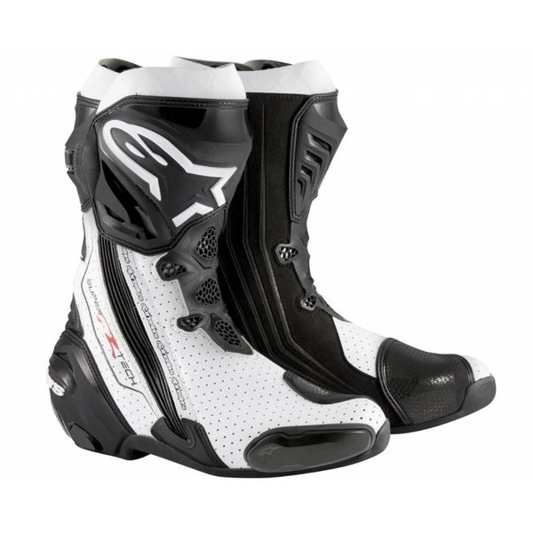 Alpinestars Supertech-R Black/White Vented