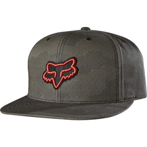 Fox Disaster Snapback Hat Graphite