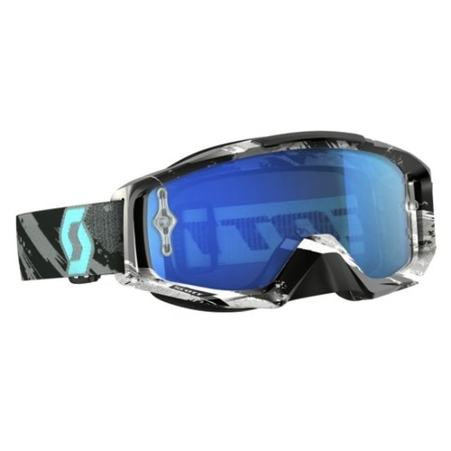 Scott Tyrant Mx Goggle Grey/Turquoise