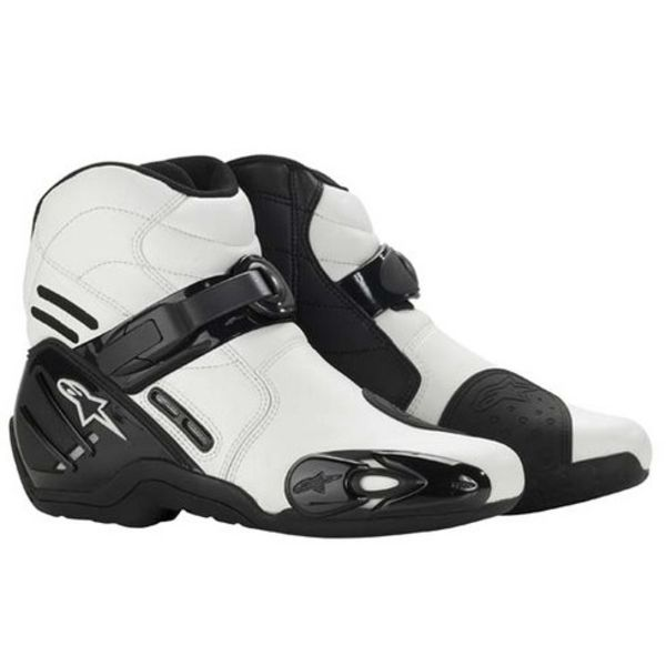 Alpinestars S-MX 2 White Vented