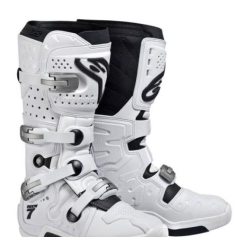 Alpinestars 2014 Tech 7 Boot White Vent