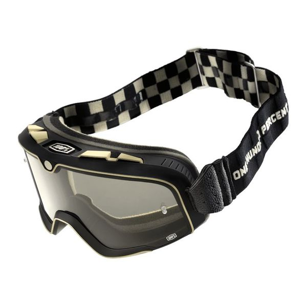 100% Barstow Classic Goggle Checkers