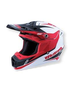 2016 SC1 Phoenix Helmet red/white/black