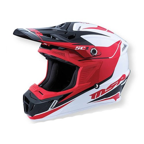 MSR 2016 SC1 Phoenix Helmet red/white/black