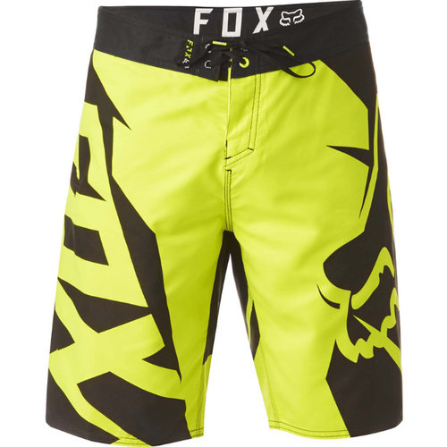 Fox Motion Fracture Boardshort - Flo Yellow
