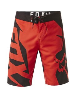 Motion Fracture Boardshort - Flame Red