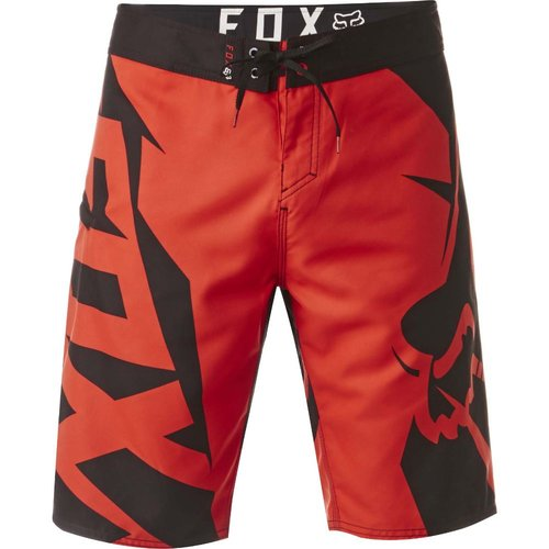 Fox Motion Fracture Boardshort - Flame Red