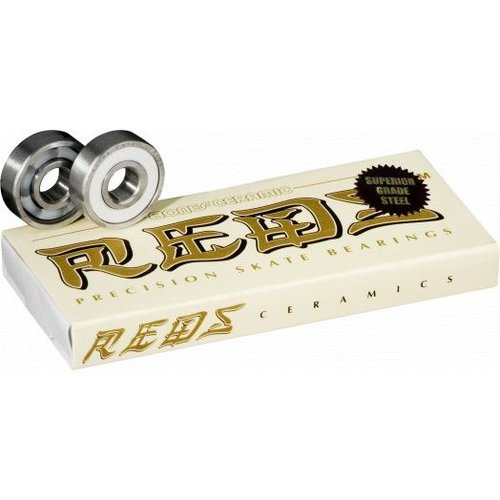 Bones® Bearings Ceramic Super REDS® (8 pack)