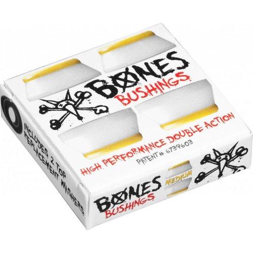 Bones Bushings Medium Pack White