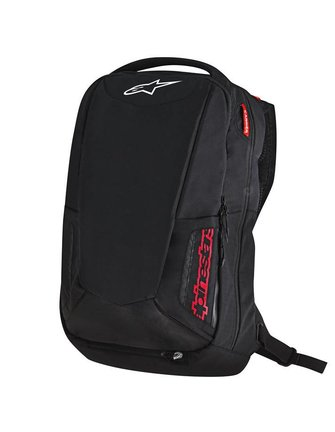 Alpinestars City Hunter Backpack - Black/Red