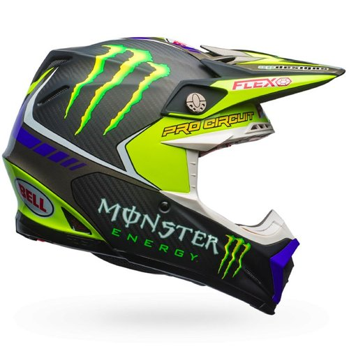 Bell Moto-9 Flex Monster Pro Circuit 17