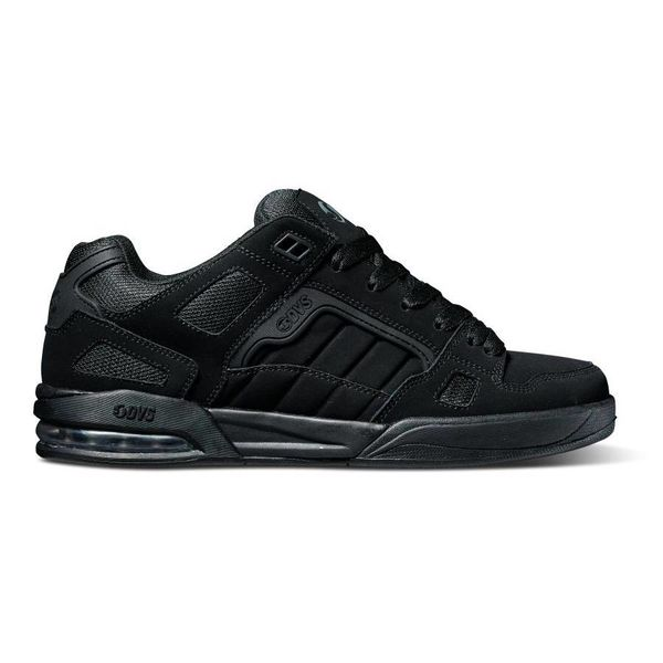 DVS® Drone - Black Leather/Nubuck Anderson