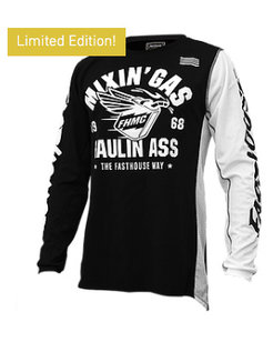 Mixin Gas & Haulin Ass Jersey - Black