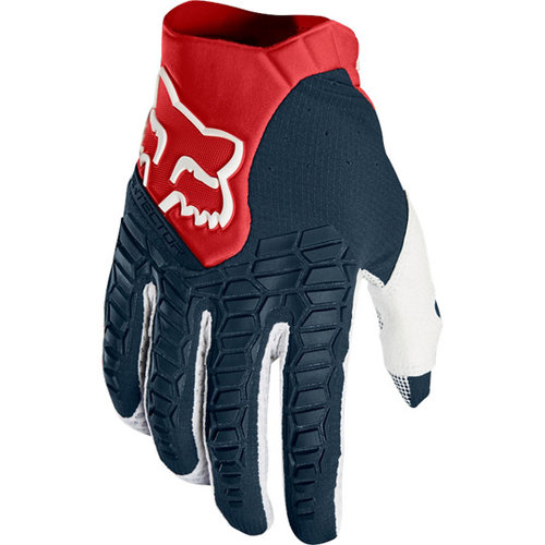 Fox Pawtector Glove - Navy/Red