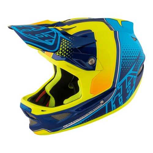 Troy Lee Designs D3 Starburst - Yellow