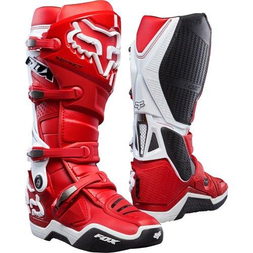 Fox Instinct Boot - Red/White