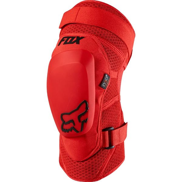 Fox Launch Pro Knee Guard - Red