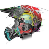 Troy Lee Designs SE4 Carbon Helmet Midnight