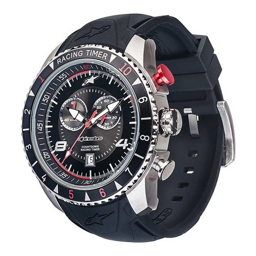 Alpinestars Tech Watch Racing Timer - Black/Steel
