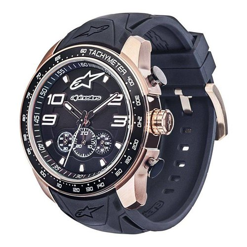 Alpinestars Tech Watch Chrone 2 Tones - Black/Rose/Steel