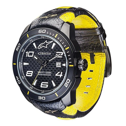 Alpinestars Tech Watch 3H Race Strap - Black Yellow