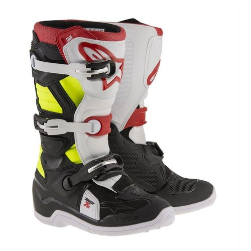 Alpinestars Tech 7 S - Red/Black/Yell Fluo
