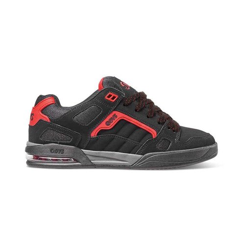 DVS® Drone+ - Black/Red/Nubuck