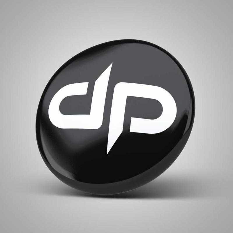 Digital Punk Button