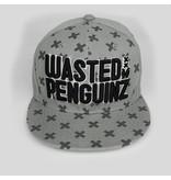 Wasted Penguinz - X-Pattern Grey Snapback