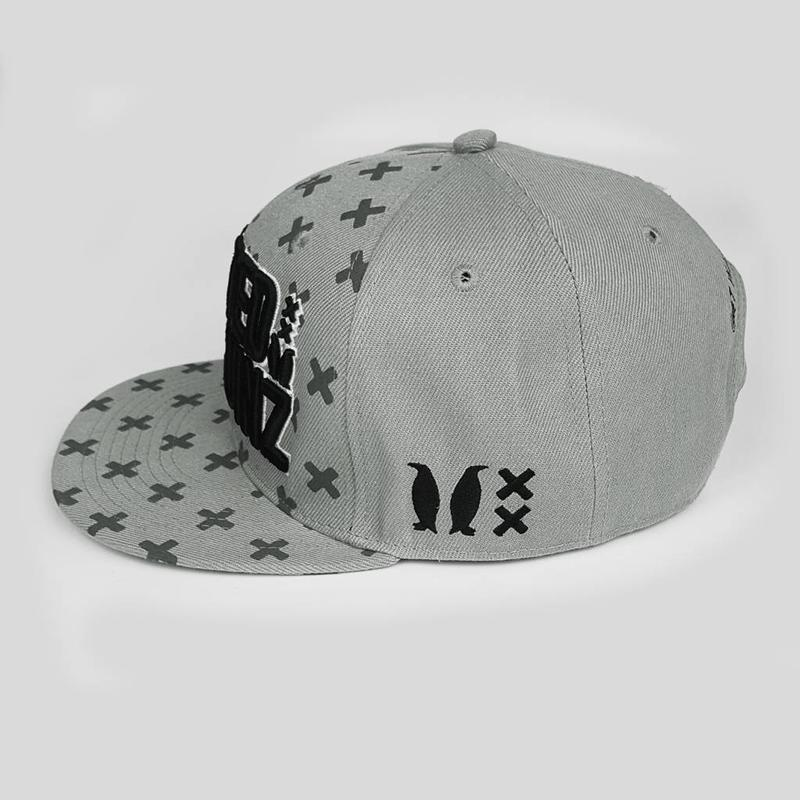 Wasted Penguinz - X-Pattern Grey Snapback
