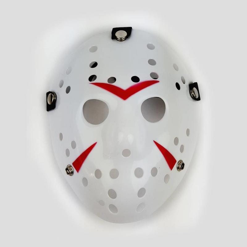 Jason Hockey Mask Striped