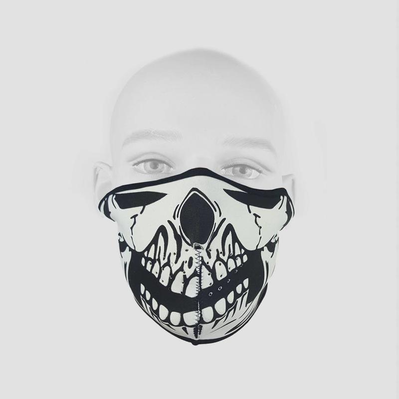 Half Face Skull Mask