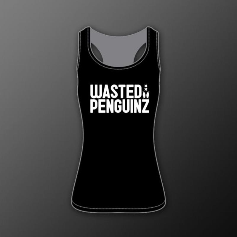 Wasted Penguinz - Tank Top Black