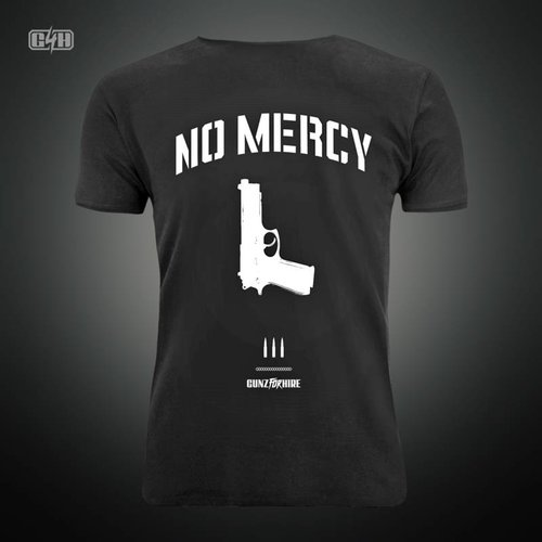 Gunz For Hire - No Mercy T-Shirt