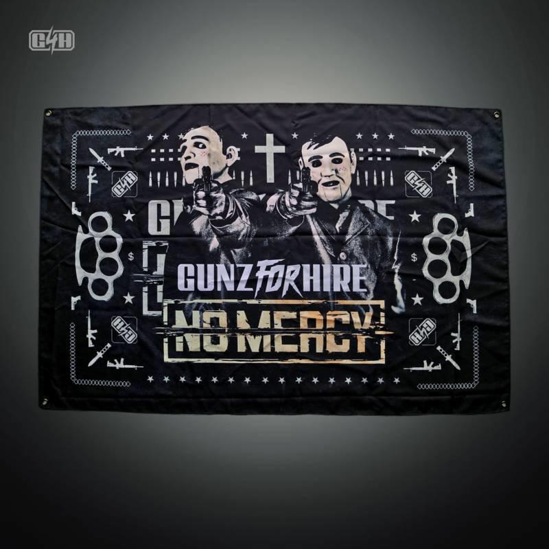 Gunz For Hire - No Mercy Icon Flag