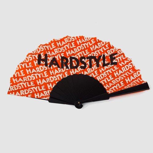 Hardstyle - Fluo Orange Waaier