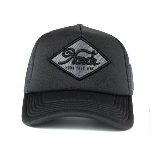 Hardr - Black Trucker Cap