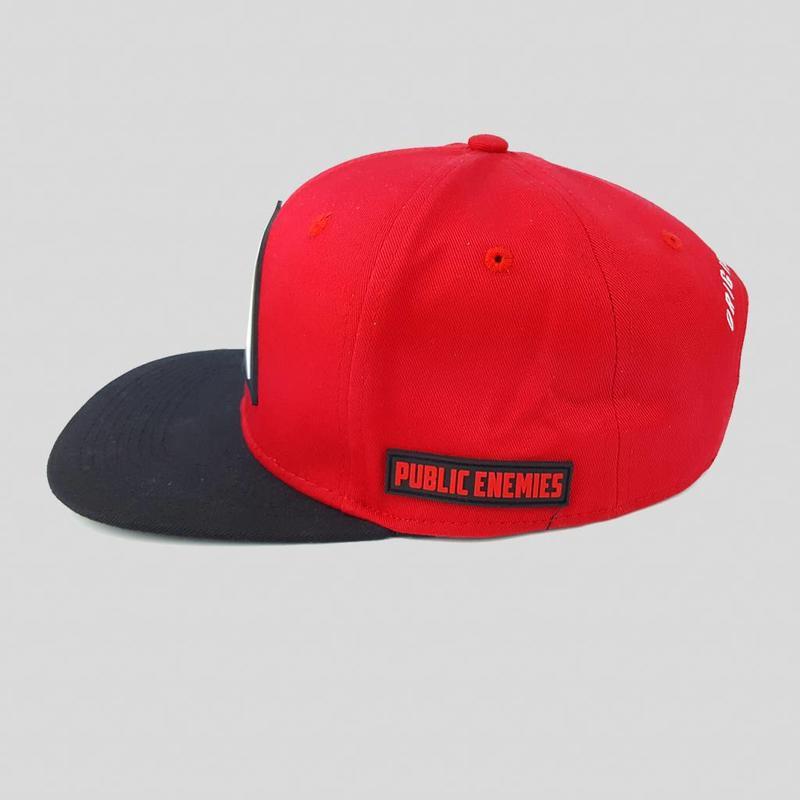 Public Enemies - Red/ Black Snapback