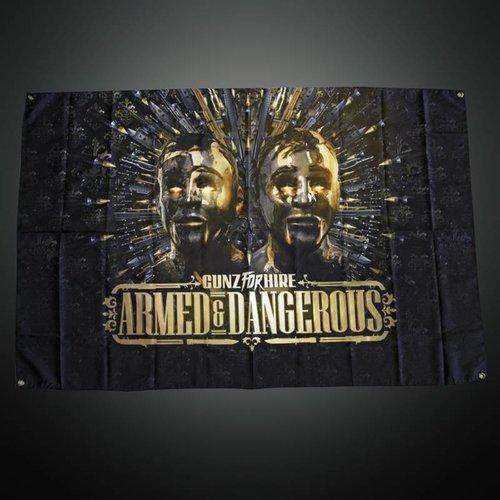 Gunz For Hire - Armed & Dangerous  Flag