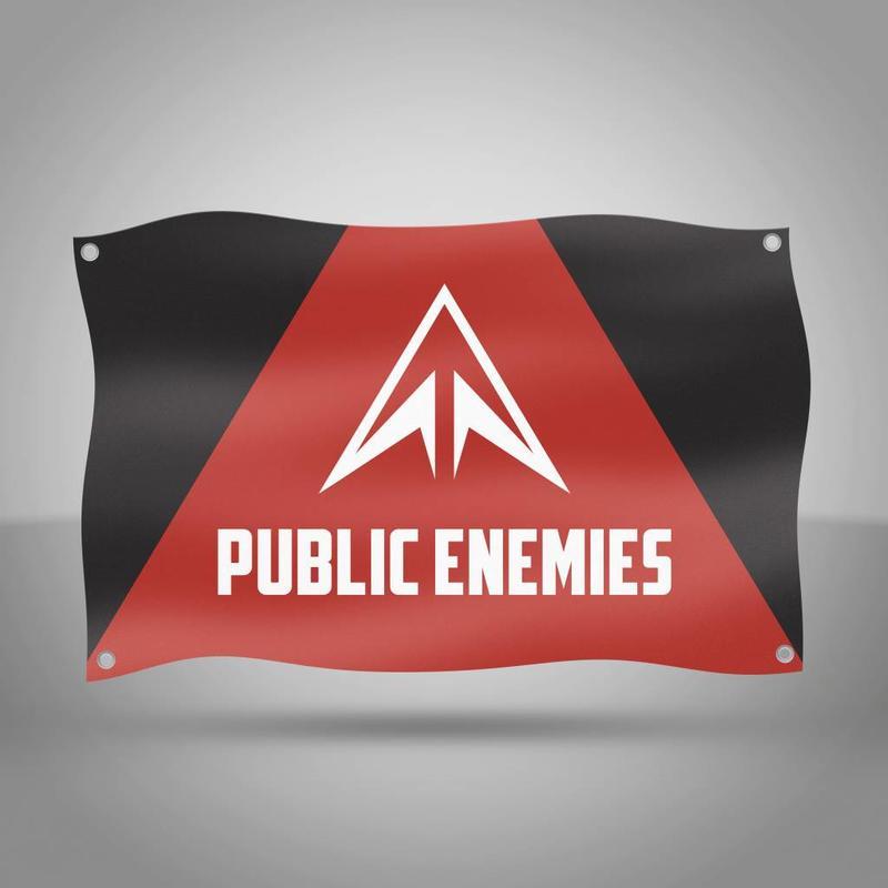 Public Enemies - Original Flag