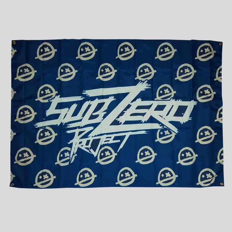 Sub Zero Project - Blue Smileys Flag