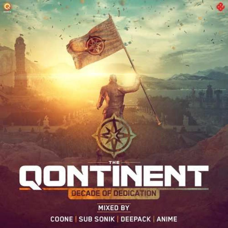 The Qontinent 2017 - Decade Of Dedication  CD