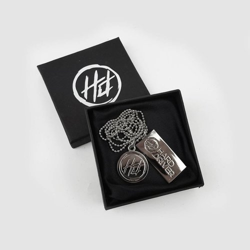 Hard Driver - Necklace (+keychain)