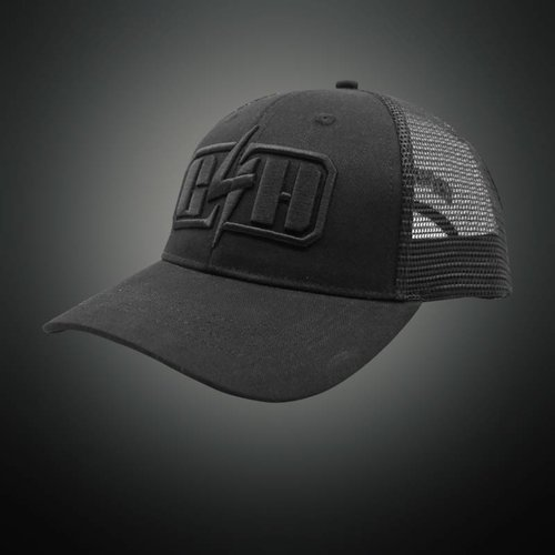 Gunz For Hire - Black Trucker Cap