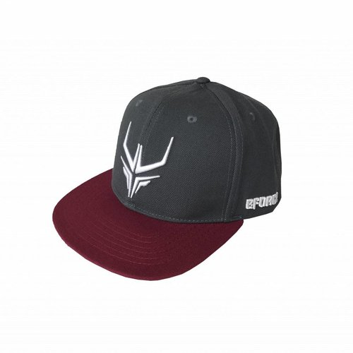 E-Force - Grey/ Bordeaux Snapback
